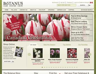 botanus.com screenshot