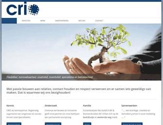 Thumbshot of Crio.nl