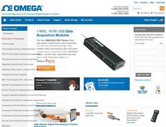 omega.com screenshot