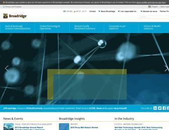 broadridge.com screenshot