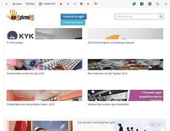 on5yirmi5.com screenshot
