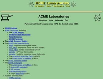 acme.com screenshot