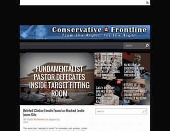 Thumbshot of Conservativefrontline.com