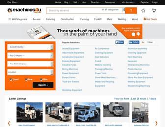 machines4u.com.au screenshot