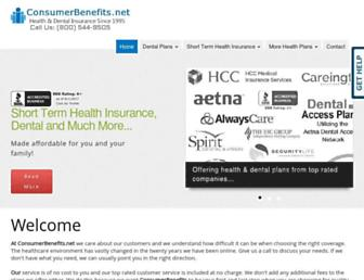 Thumbshot of Consumerbenefits.net