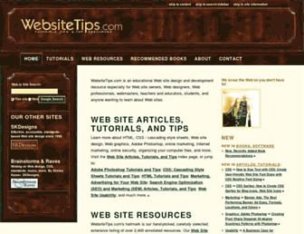 Thumbshot of Websitetips.com