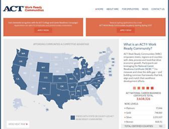 workreadycommunities.org screenshot