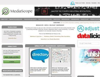 mediascope.com.au screenshot
