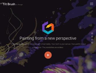 Thumbshot of Tiltbrush.com