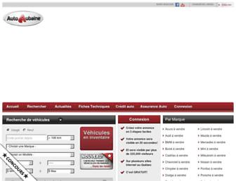 autoaubaine.com screenshot