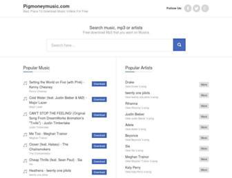 pigmoneymusic.com screenshot