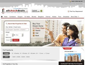 Thumbshot of Allcheckdeals.com