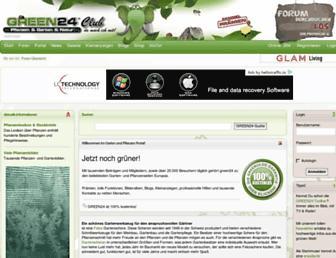 Main page screenshot of green-24.de