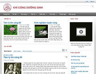 duongsinh.net screenshot