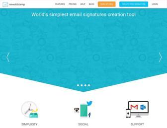 newoldstamp.com screenshot