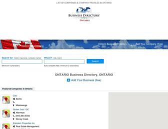 ontario-business.com screenshot