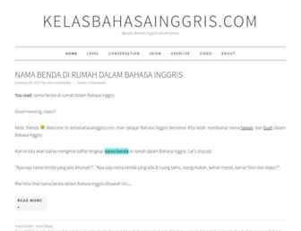 kelasbahasainggris.com screenshot