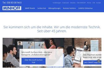 minhoff.de screenshot