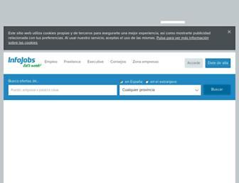 infojobs.net screenshot