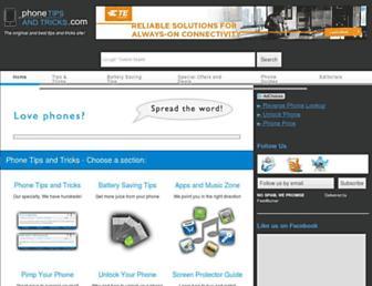 phonetipsandtricks.com screenshot