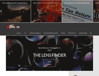 improvephotography.com screenshot