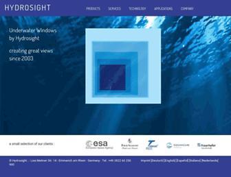 hydrosight.com screenshot