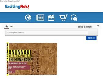 search.excitingads.com screenshot