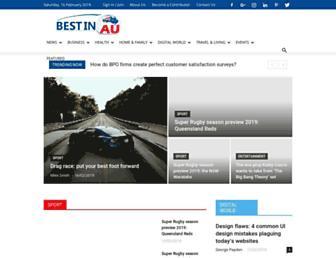 bestinau.com.au screenshot