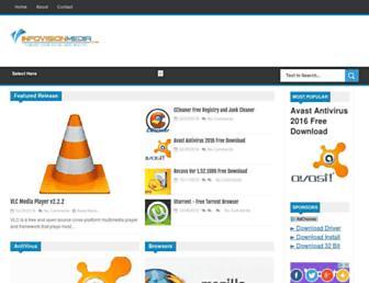 downloadcenter.infovisionmedia.com screenshot