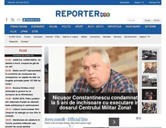 reporterntv.ro screenshot