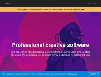 dl.serif.com screenshot