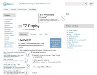 ez-display.updatestar.com screenshot