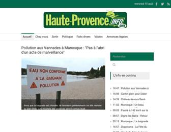 Thumbshot of Hauteprovenceinfo.com