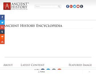 ancient.eu screenshot