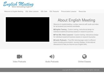 englishmeeting.com screenshot