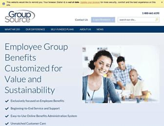 groupsource.ca screenshot