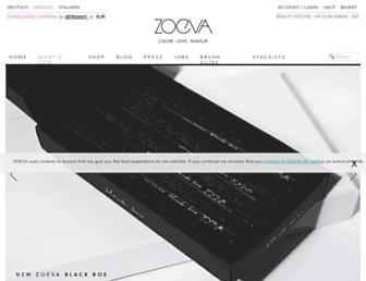 Thumbshot of Zoeva-shop.de