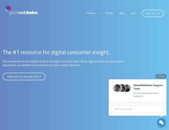 Thumbshot of Globalwebindex.net