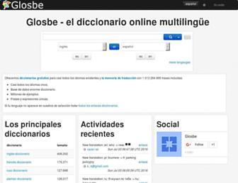 es.glosbe.com screenshot
