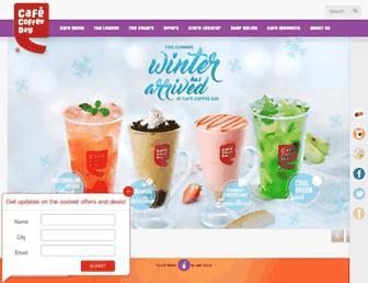 Thumbshot of Cafecoffeeday.com