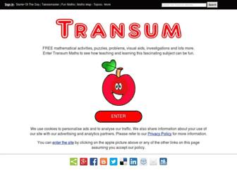 transum.org screenshot