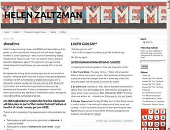helenzaltzman.com screenshot