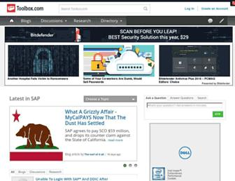 sap.ittoolbox.com screenshot
