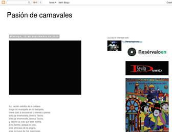 pasiondecarnavales.blogspot.com screenshot
