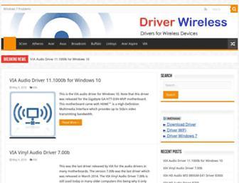 driver-wireless.com screenshot
