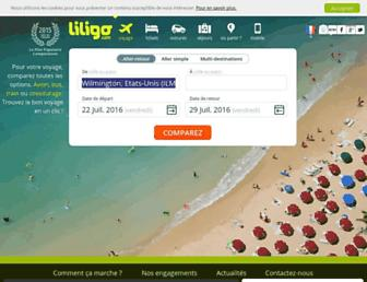 liligo.fr screenshot