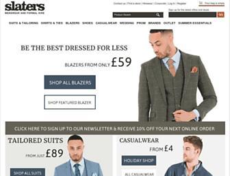 Thumbshot of Slaters.co.uk