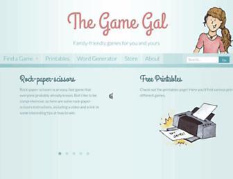 thegamegal.com screenshot