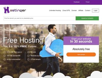 Thumbshot of Hostinger.co.uk