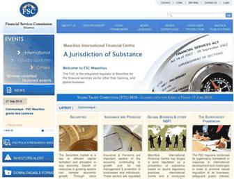 fscmauritius.org screenshot
